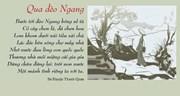 Nỗi hoài nhớ trong thơ Bà huyện Thanh Quan