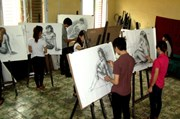 Đào tạo nhân lực cho ngành mỹ thuật