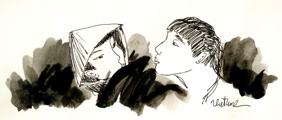 Vẽ minh họa cho tác phẩm văn học