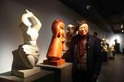 Triển lãm cá nhân đầu tiên của nhà điêu khắc Tạ Quang Bạo