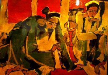 Nguyễn Trãi với câu thơ quốc âm 6 tiếng