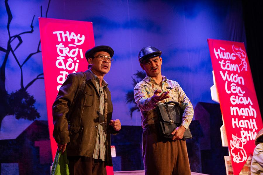 Chặng đường nghệ thuật đầy thú vị của NSND Việt Thắng