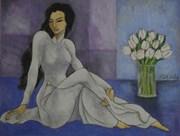 """""""Thương nhớ Tràng An"""": Hoài niệm của họa sĩ Đỗ Duy Minh"""