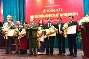 Giải thưởng Hội Nhà văn Việt Nam 2019