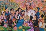 """""""Dấu ấn thời gian"""": Triển lãm của họa sĩ Nguyễn Thanh Hải"""