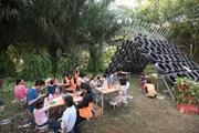 Không gian sáng tạo tái chế ở lễ hội Khoe