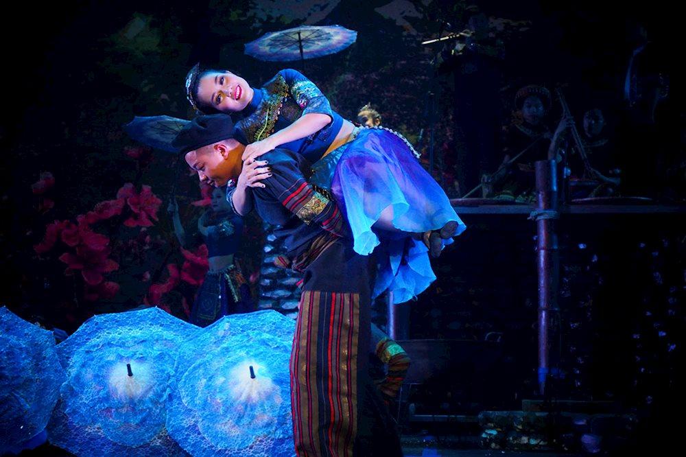 """Vở diễn """"Mỵ"""" trên sân khấu Nhà hát lớn Hà Nội"""