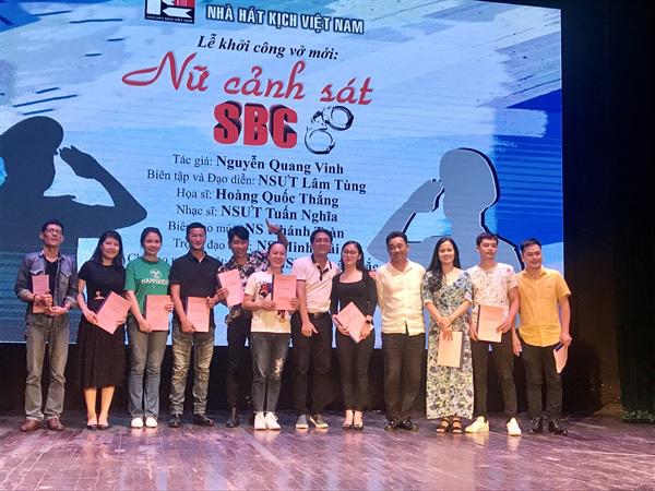 """""""Nữ cảnh sát SBC"""" lên sân khấu Nhà hát Kịch Việt Nam"""