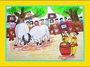 Cùng họa sỹ Đặng Việt Linh khai bút