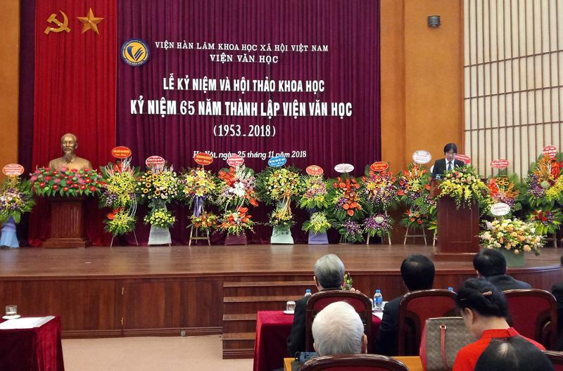 65 năm Viện Văn học: Đẩy mạnh công tác nghiên cứu khoa học
