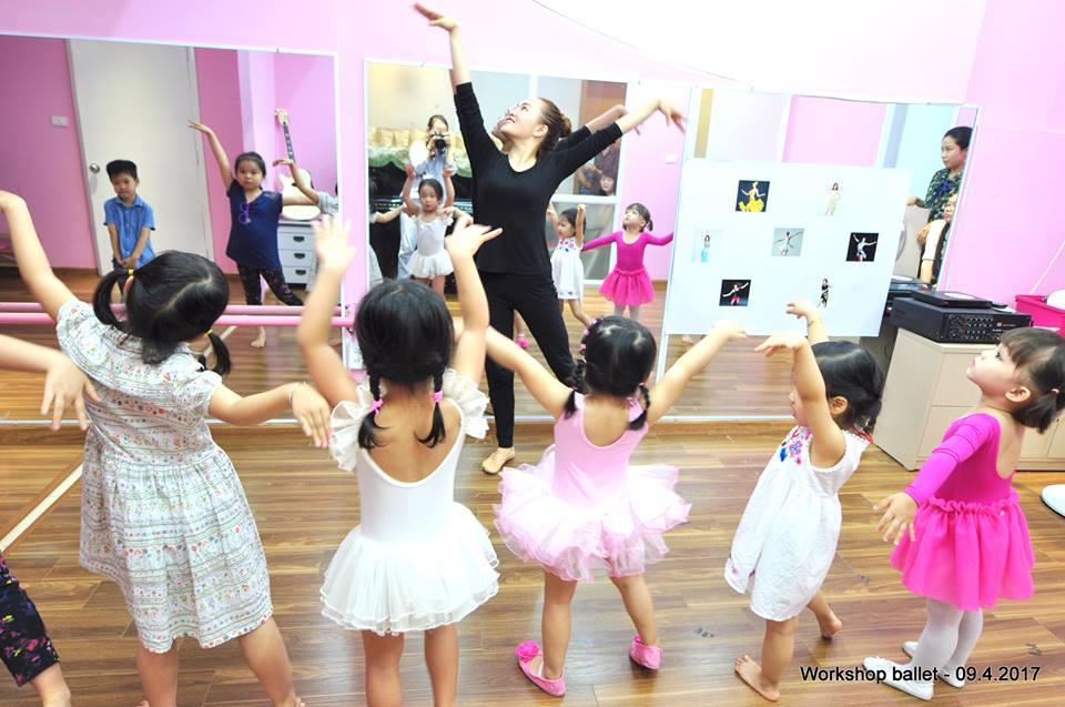 Làm quen với múa ballet cùng Polaris Art & Music School