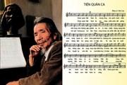 Nhạc sĩ Văn Cao và câu chuyện hiến tặng Quốc ca