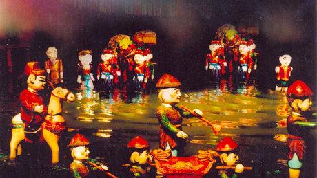 Múa rối nước: Nghệ thuật truyền thống của dân tộc