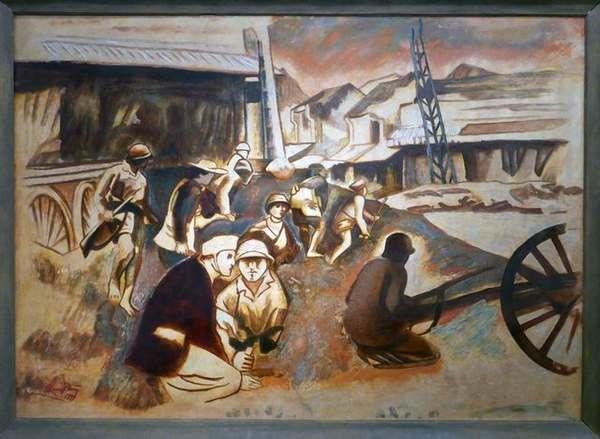 Họa sĩ Quang Phòng: Giải thưởng Nhà nước về Văn học - Nghệ thuật năm 2012