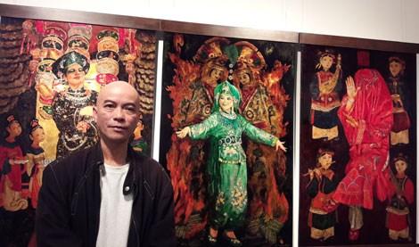Trần Tuấn Long: Thăng hoa sáng tạo nghệ thuật truyền thống