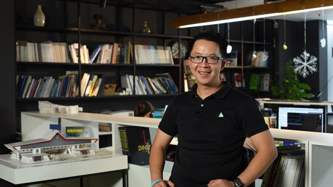 KTS Nguyễn Tuấn Anh: Say mê và khát vọng