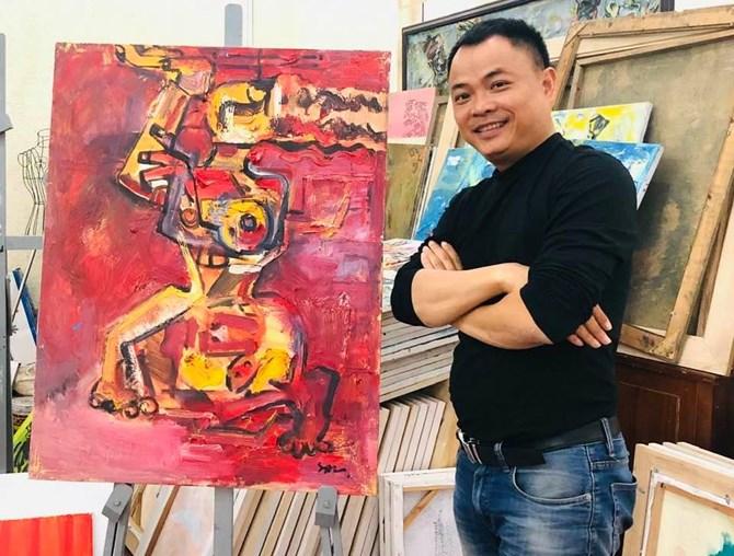 Nguyễn Tuấn Sơn: Sáng tạo với những sắc màu hội họa