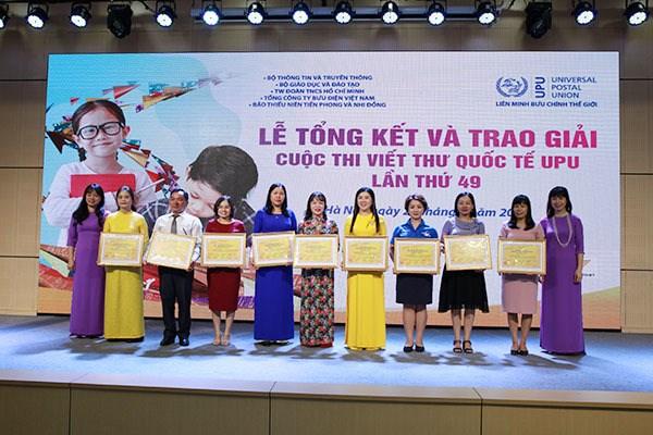 Thấy gì từ cuộc thi Viết thư quốc tế UPU lần thứ 49