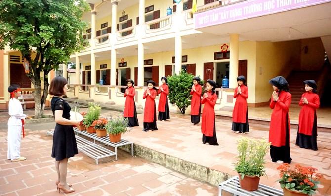 Giáo dục di sản văn hóa trong trường học