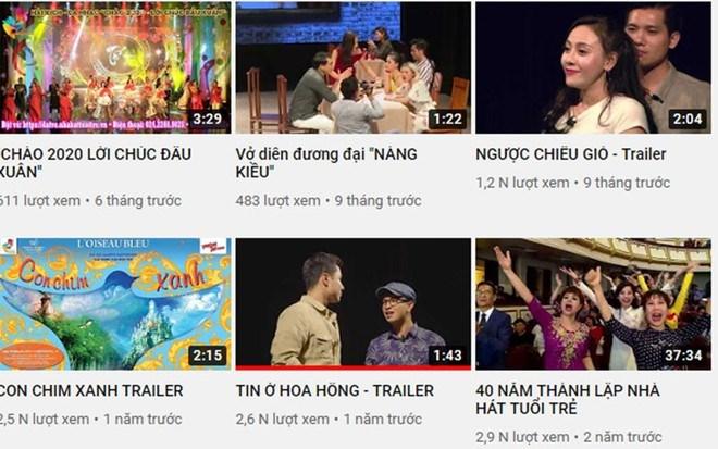 Nhà hát online - Giải pháp cho hoạt động biểu diễn trong mùa dịch