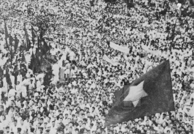 Những bức ảnh lịch sử buổi Lễ Tuyên ngôn Độc lập